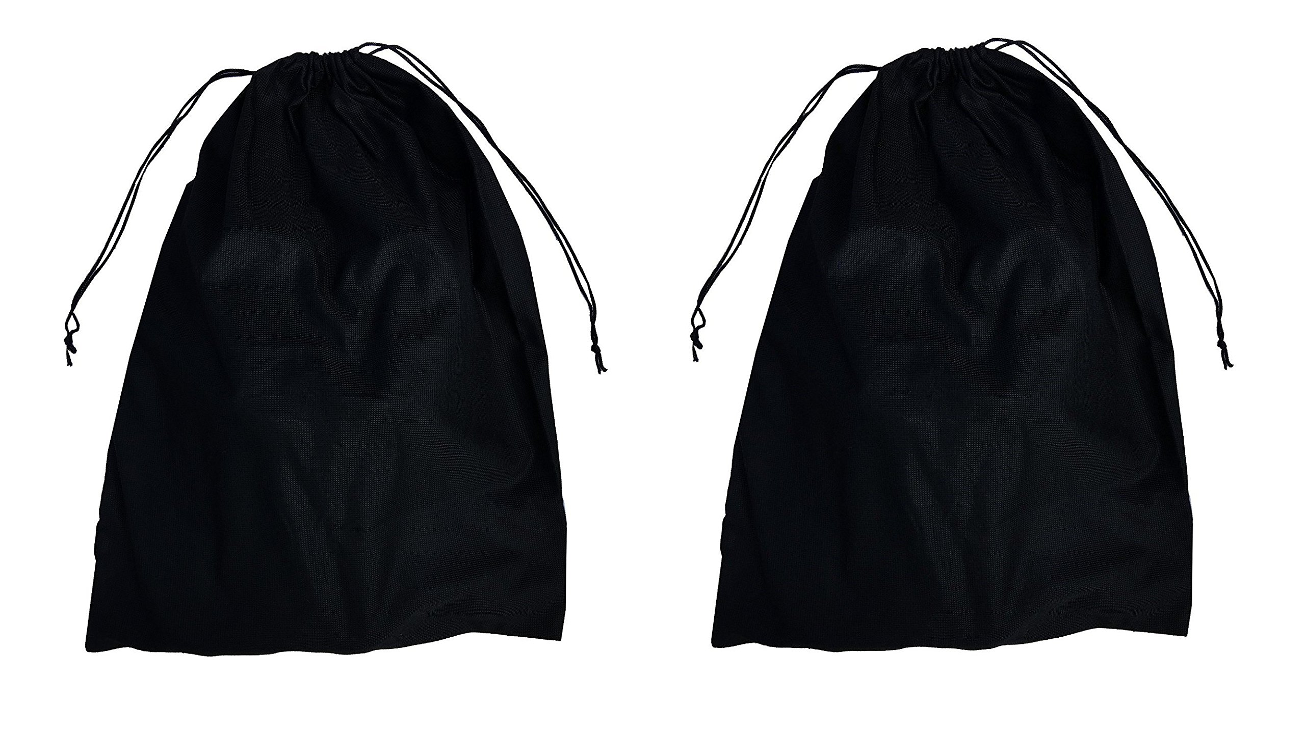 2 Woly XXL Shoe Bags (18''x 14'' in.) Fits 2 Pairs of Shoes Per Bag. Good for Travel. Made in Germany. by Woly (Image #1)
