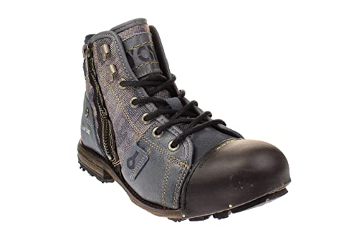 new products 03b60 85fe2 Yellow Cab Herrenschuhe - Boots Industrial 15458 - Blue