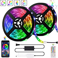 10M Bluetooth Tiras LED Musical 5050 RGB, Akapola