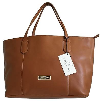 9f65aaecc0b LAMARTHE Ladies Bag New Carbon Handbag Genuine Full-grain Calfskin Leather  Tote Women s Shoulder Bag