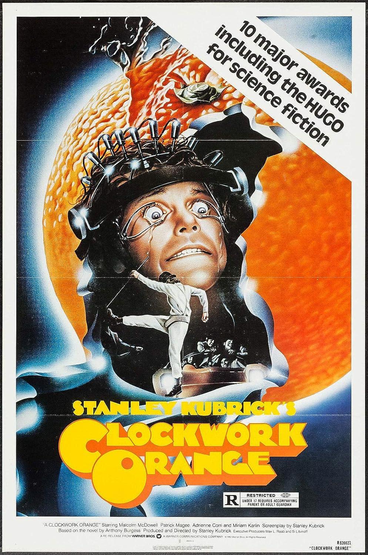 One Sheet Movie Poster 24x36 A Clockwork Orange