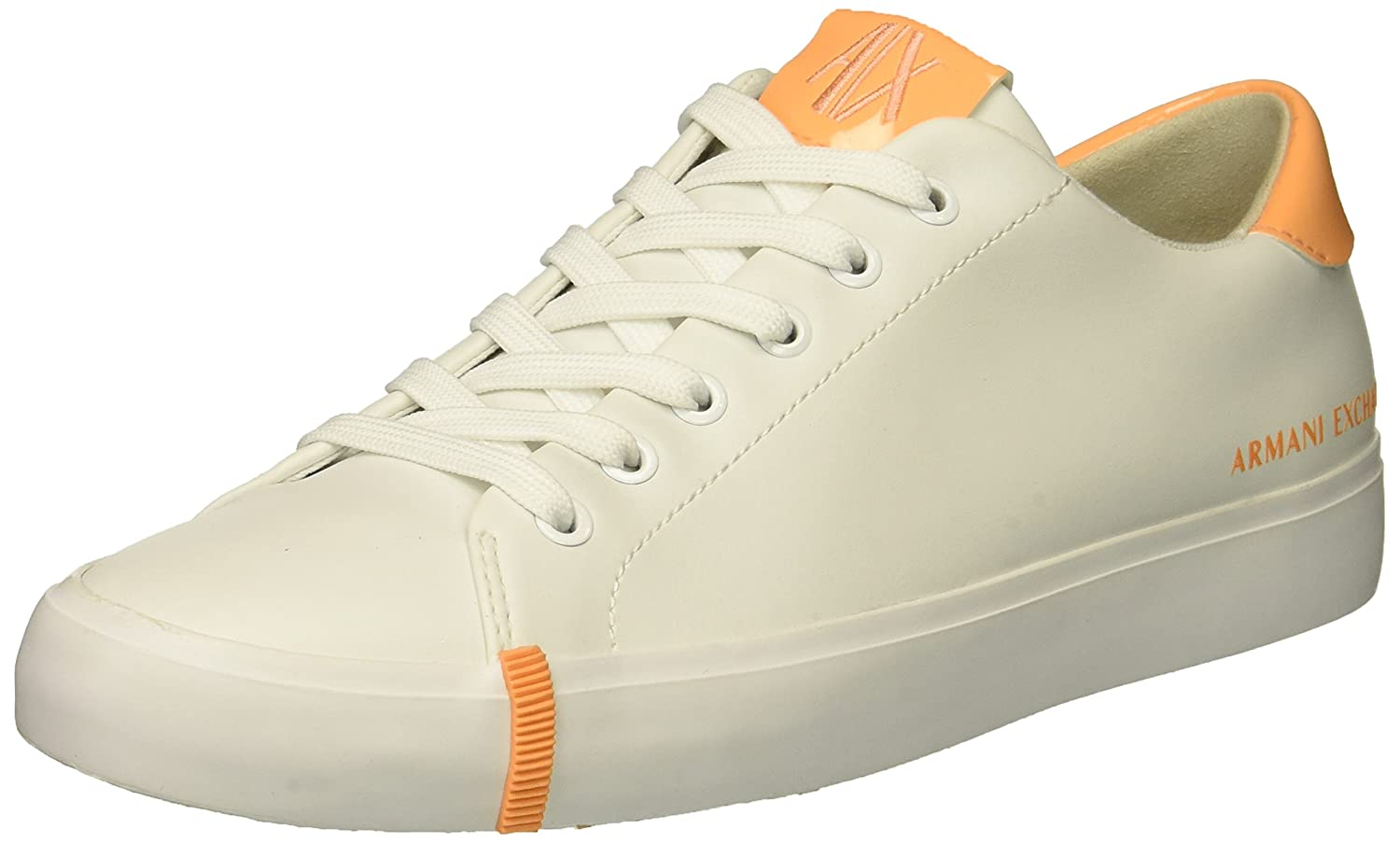 A|X Armani Exchange Women's Eco Leather Fashion Sneaker B0749WD1JJ 6 B(M) US|Bianco