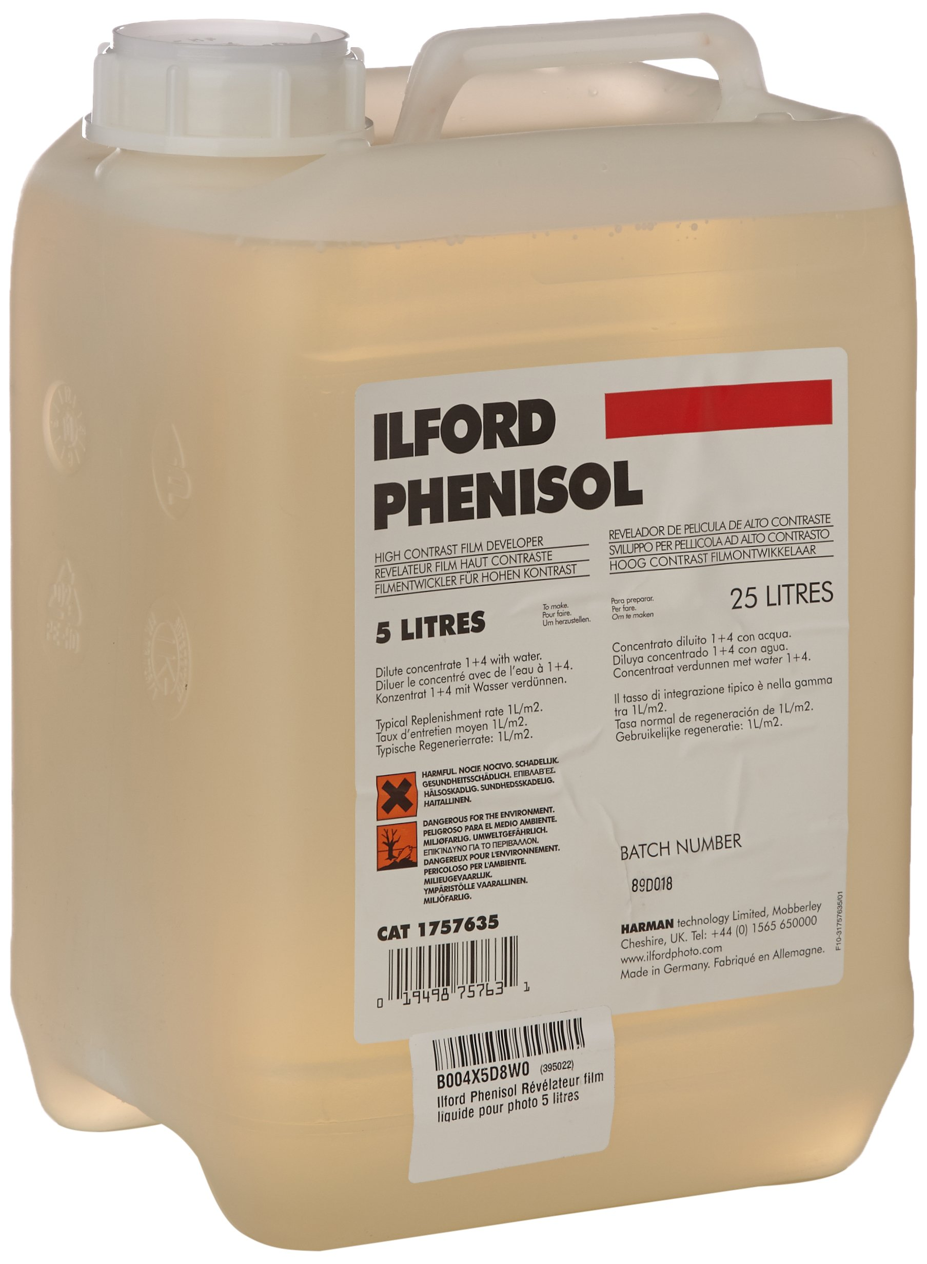 Ilford Phenisol X-Ray Developer, 5 Liters by Ilford