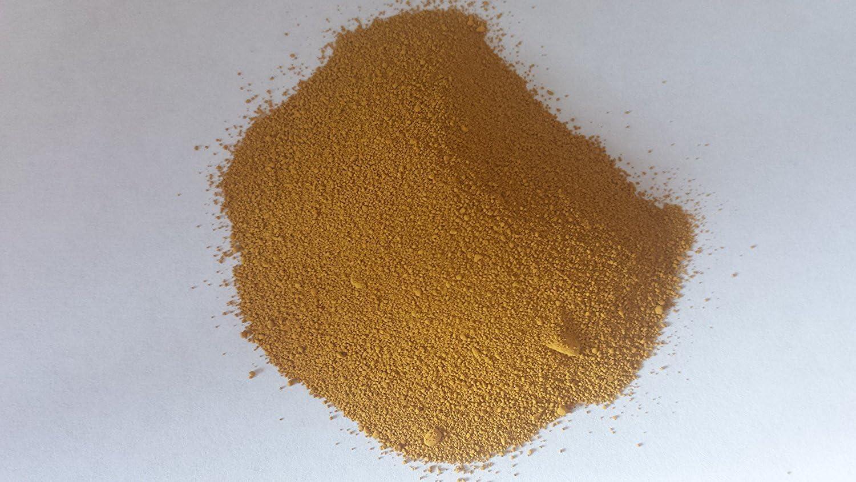 2 x enlace es 1 kg amarillo arena piedra color cemento concreto Pula polvo tinte hacer mortero ALBAÑIL tóneres