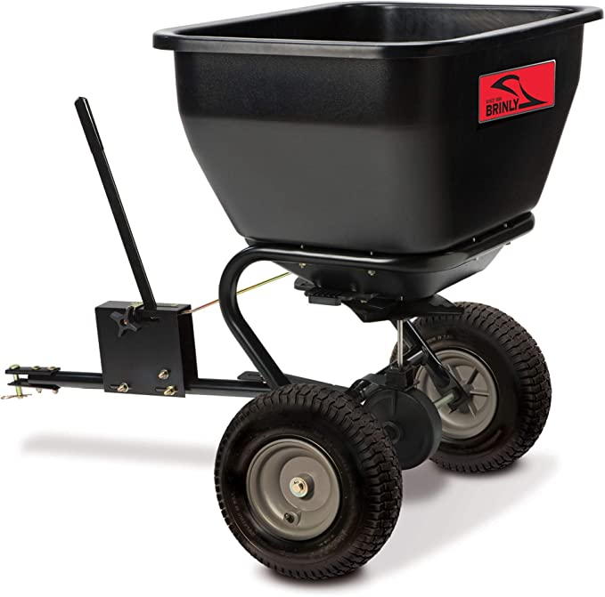 Brinly BS36BH 175 lbs Tow-Behind Broadcast Spreader - Best Commercial Fertilizer Spreader