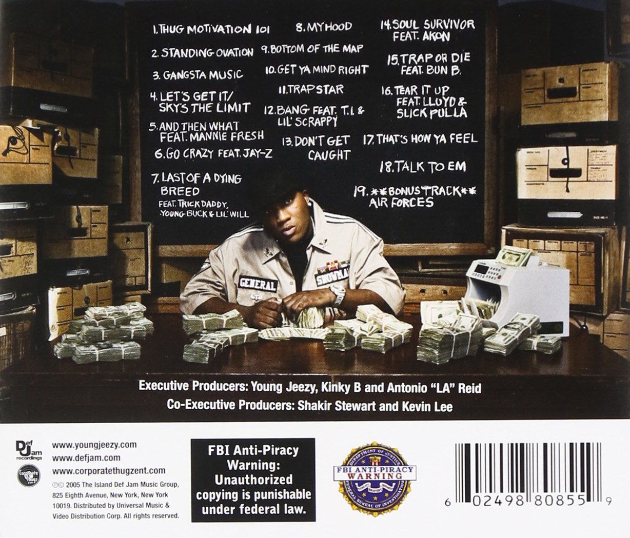 Thug motivation 101 tracklist