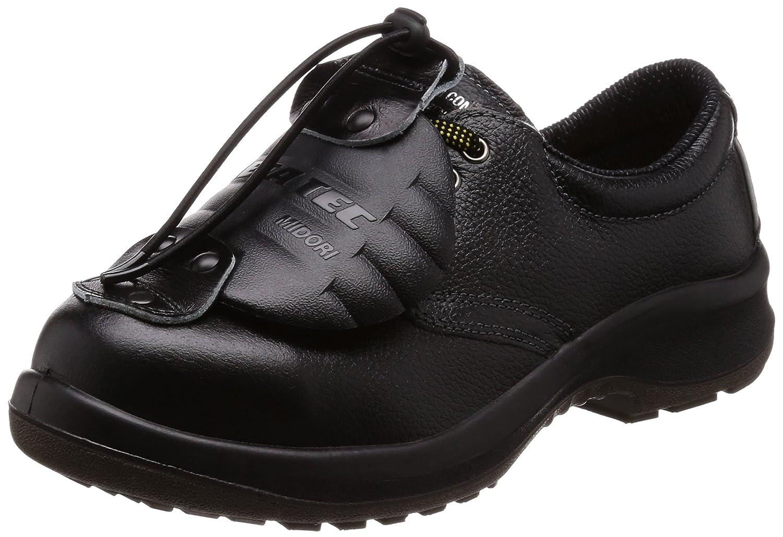 [ミドリ安全] 静電安全靴 JIS規格 短靴 プレミアムコンフォート B0761JRMH4 ブラック 27.5 cm 3E