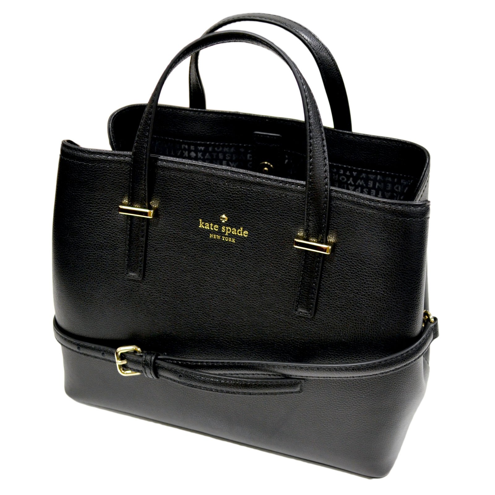 Kate Spade New York Patterson Drive Evangelie Purse (Black) by Kate Spade New York