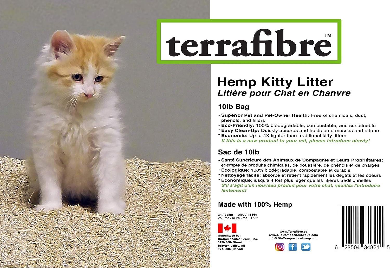 30lb Terrafibre Hemp HURD Small Pet Bedding