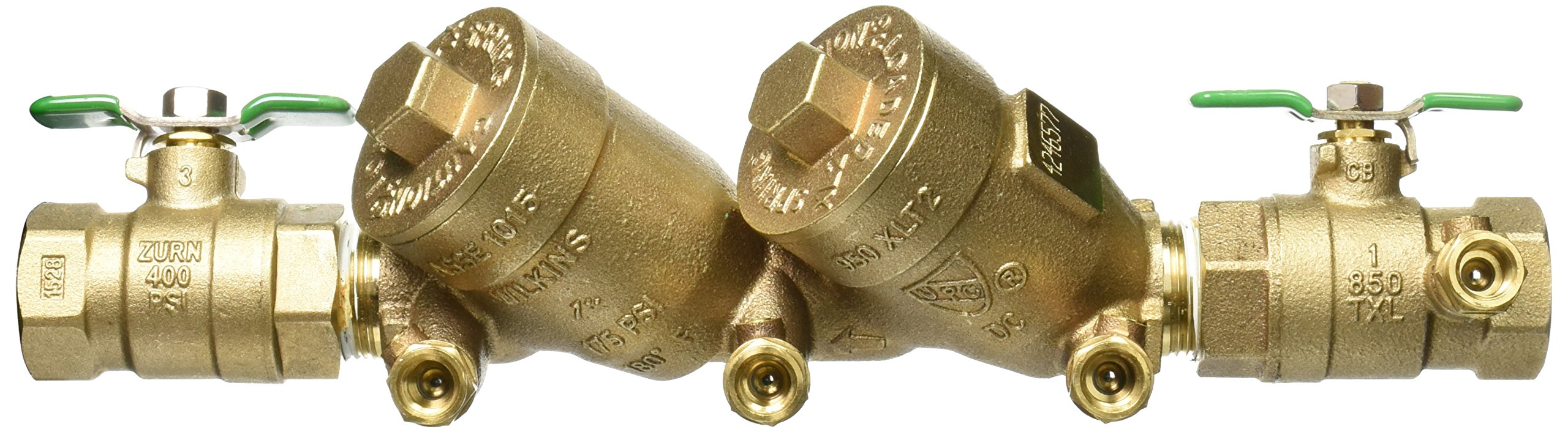 Zurn 1-950XLT2 Wilkins Double Check Valve Backflow Preventer 1'' Lead Free by Zurn (Image #4)