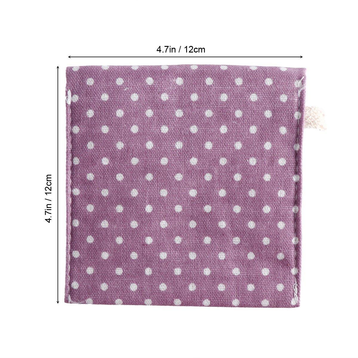 OUNONA Bolsa organizador para señoras Bolsa de menstruación de lino para mujeres Chica (púrpura): Amazon.es: Hogar