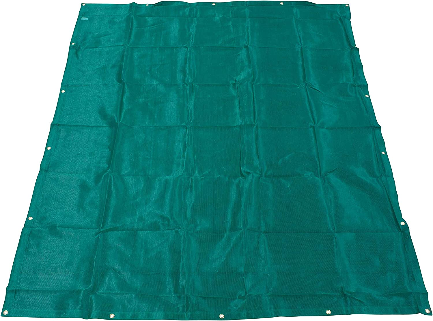 12 x 26 Black 70/% Shade Mesh Tarps with Grommets Roll-Off ROLL-OFF Mytee Products