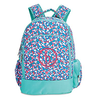 Personalized Confetti Pop Backpack Monogram- 17 quot H 2a5f3a175cc65