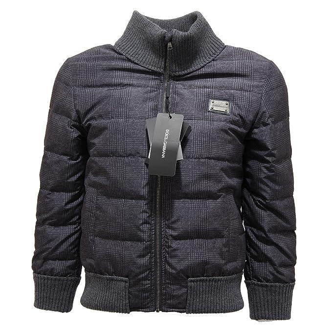 Dolce   Gabbana 9195L Piumino Bimbo D G Giubbotto Giacche Jackets Coats  Kids  7-8 Years   Amazon.it  Abbigliamento 34ba5b6e576