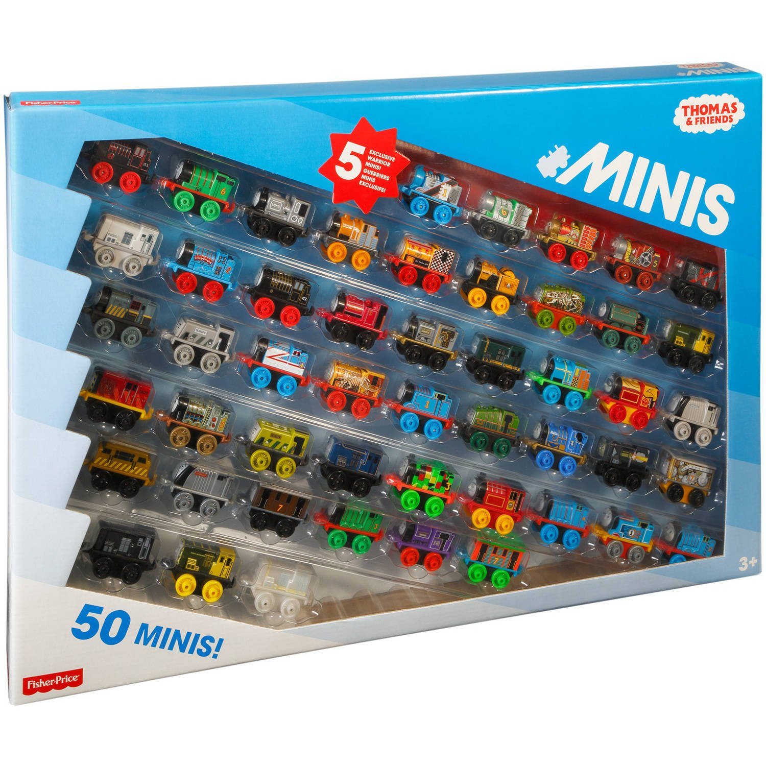 Thomas and Friends Minis Collection of 50 - with 5 Exclusive ...