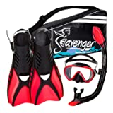 Seavenger Advanced Snorkeling Set with Panoramic