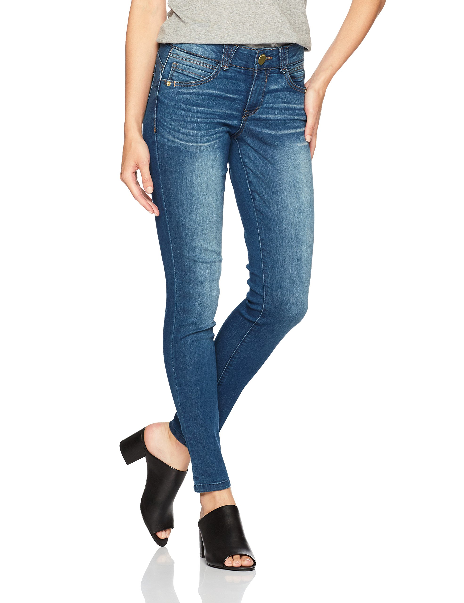 Democracy Women's Ab Solution Jegging, Blue, 10 by Democracy