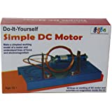 (A158) Simple DC Motor Do it yourself school project Science fair DIY kit. Educational gift.