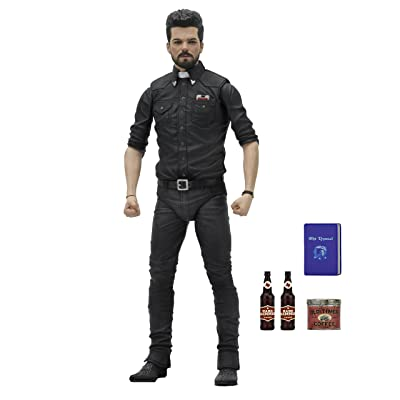 "NECA Preacher Scale Action Figure Series 1 Jesse Custer, 7"": Toys & Games"