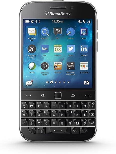 Amazon Com Blackberry Classic Factory Unlocked Cellphone Black
