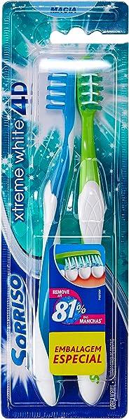 Escova Dental Sorriso Xtreme White 4D 1unid Promo Leve 2 Pague 1