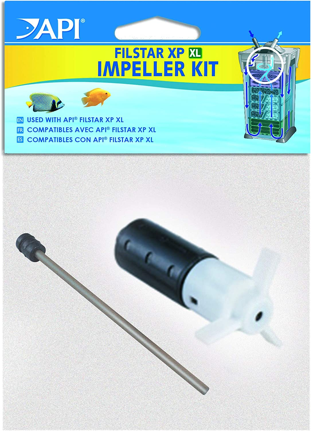 API FILSTAR XP Canister Filter Spare Parts Such as Canister Clips, Quick Disconnect, Gasket, impellers and More