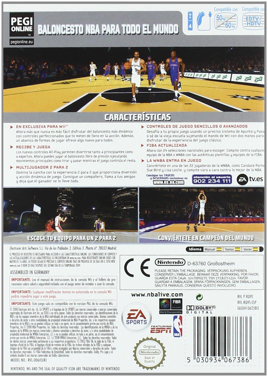 NBA Live 09: Amazon.es: Videojuegos