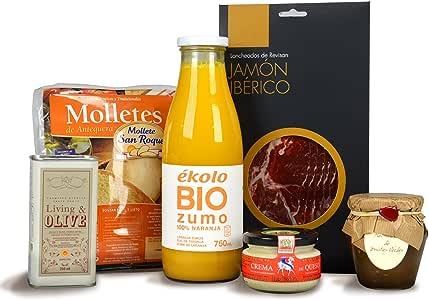 """Desayuno a Domicilio """"Desayuno ibérico"""": Amazon.es"""