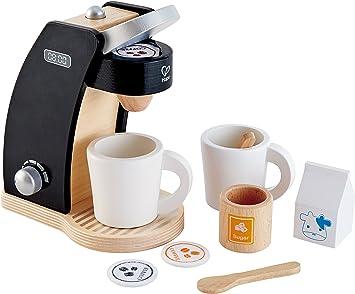 Amazon.com: Hape Coffee Time - Juego de cocina para hacer ...