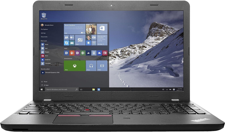"Lenovo ThinkPad E560 Laptop, Intel Core i5-6200U 2.3GHz, 500GB SATA, 4GB DDR3, 802.11ac, Bluetooth, Win7Pro, Black, 15.6"""