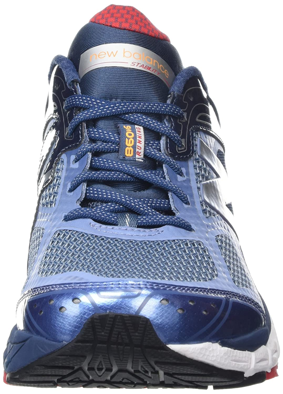 Unisex-Erwachsene M860 BW6 Fitnessschuhe, Blau (Ftwbla/Ftwbla/Onicla Blue), 45.5 EU New Balance