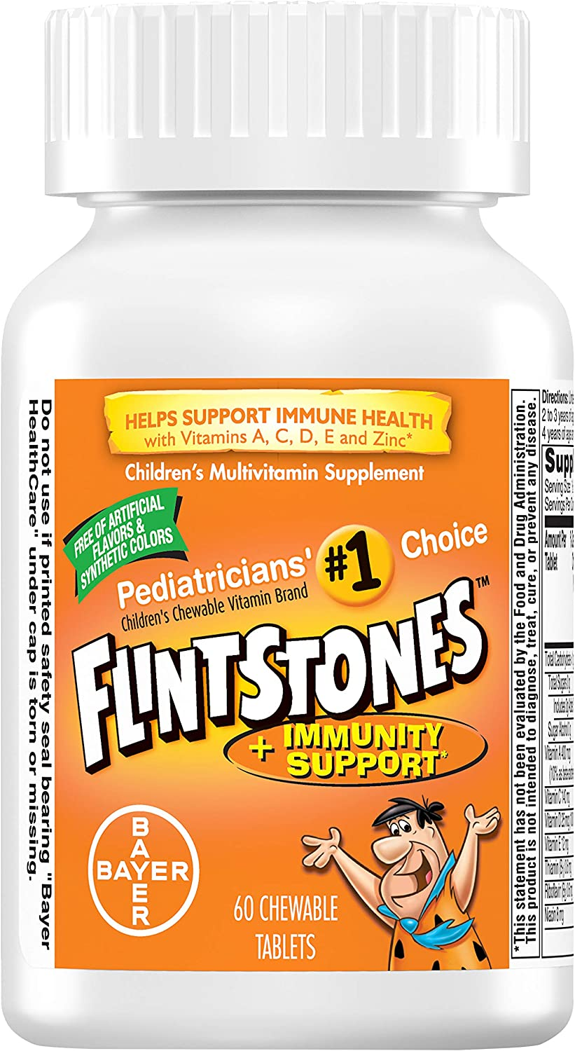 Flintstones® Plus Immunity Support Multivitamin Chewable Vitamins - 60ct