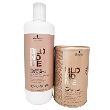 Schwarzkopf Professional Blond Me Premium Lift 9 Bleach And 12