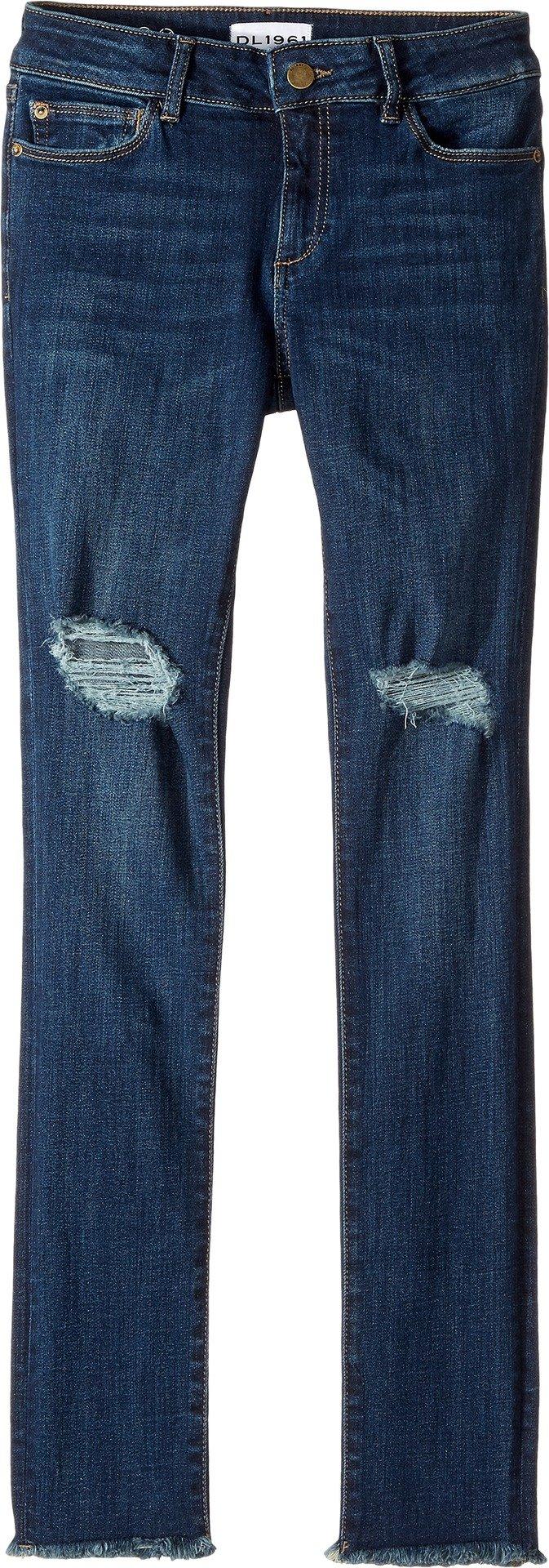 DL1961 Kids Girl's Chloe Skinny Jeans in Willow (Big Kids) Willow 16