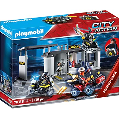 PLAYMOBIL Take Along Tactical Unit Headquarters: Toys & Games