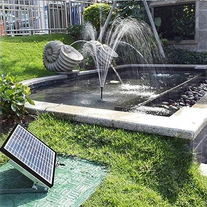 Bomba De Agua Mini Fuentes Exterior Decorativas Solar Bomba Para El - Fuentes-exterior