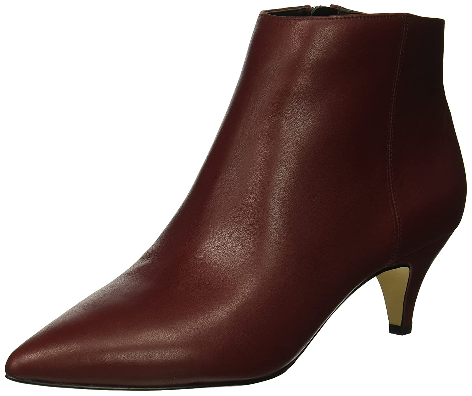 Sam Edelman Women's Kinzey Fashion Boot B07BRB33SC 8.5 W US|Beet Red Leather