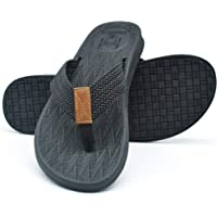 01e042c74bd621 KUAILU Mens Flip Flops Thong Sandals Yoga Foam Slippers