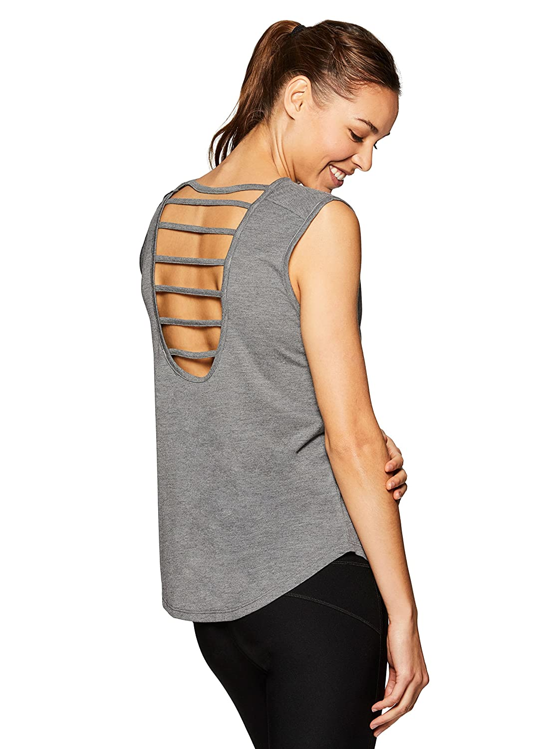 RBX Active Women's Back Detail Yoga Tank Top ACR3050