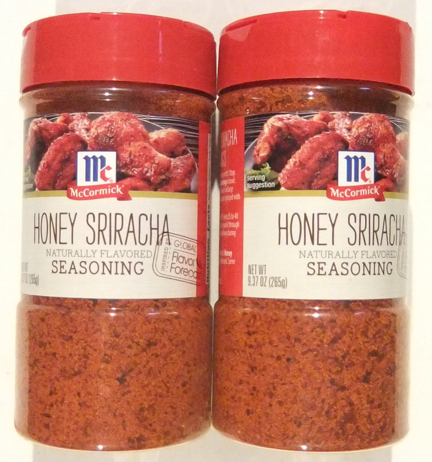 McCormick Honey Sriracha Seasoning, 9.37 ounce (Pack of 2)