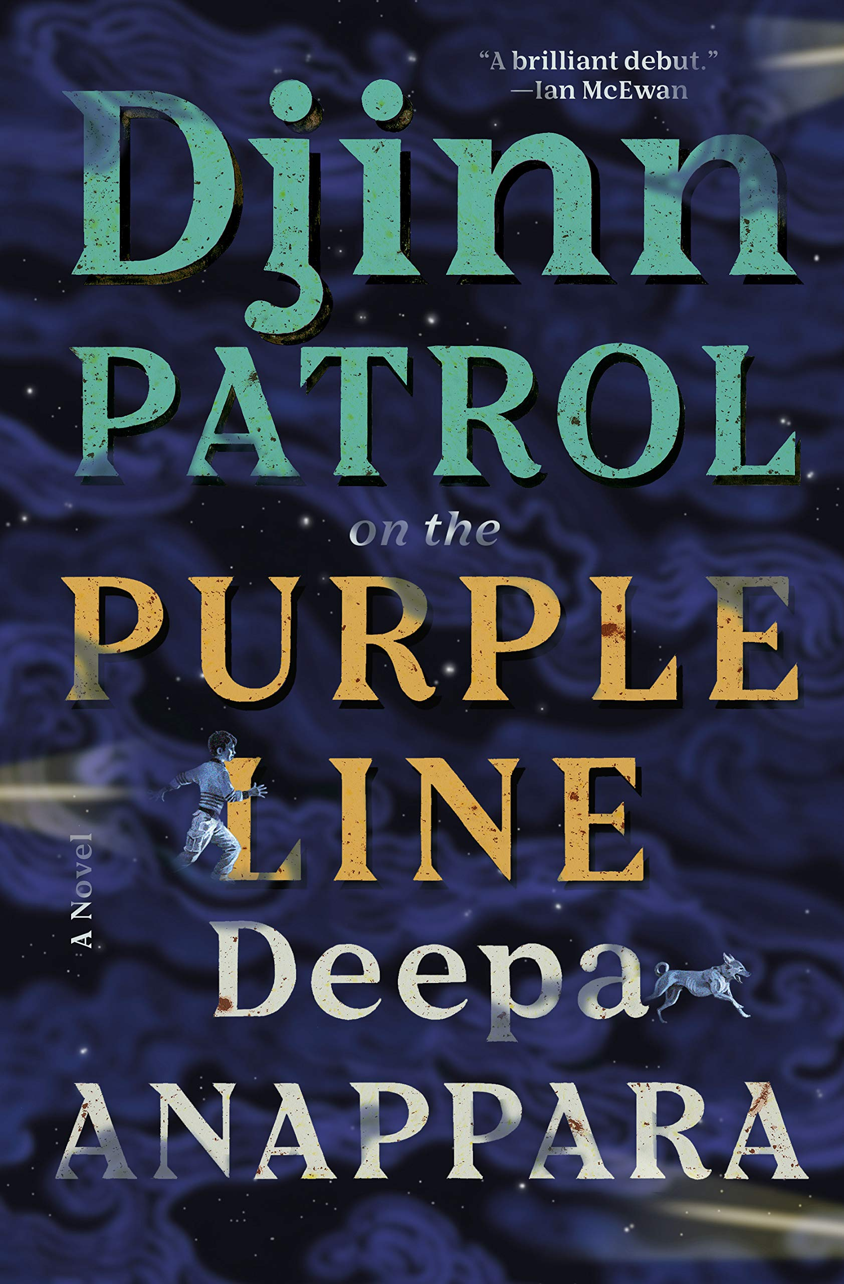 Image result for djinn patrol on the purple line by deepa anappara