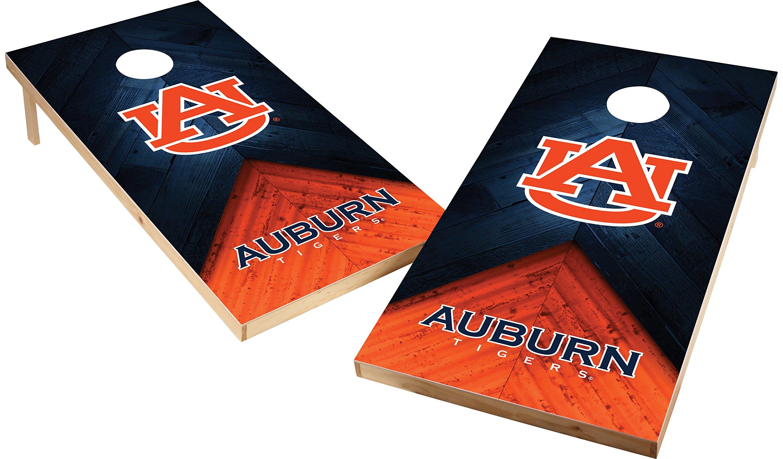 Wild Sports NCAA College 2'x4' Auburn Tigers Cornhole Set