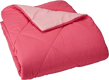 4-Pack AmazonBasics Reversible Microfiber Comforter Twin/Twin XL Blanket
