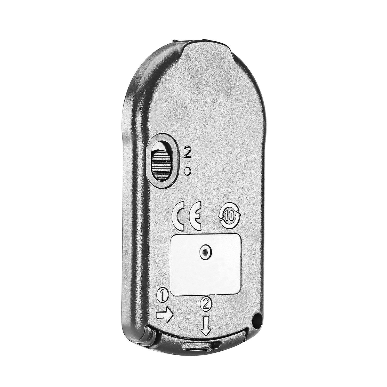 Neewer Telecomando IR Wireless per Canon EOS 60D 70D 7D 700D 650D 600D 550D 500D 450D 400D 350D 100D