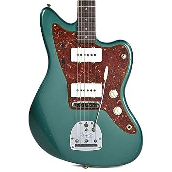 "Fender Custom Shop 1962 Jazzmaster Viajero reliquia años Sherwood verde""CME Spec W/de"