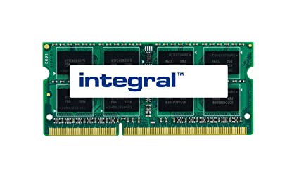 Integral 8GB DDR3-1333 módulo de - Memoria (8 GB, 1 x 8 GB, DDR3, 1333 MHz, 204-pin SO-DIMM)