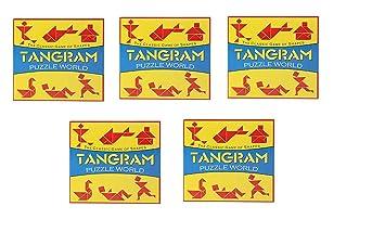 Virgo Toys Tangram - (Pack of 5)