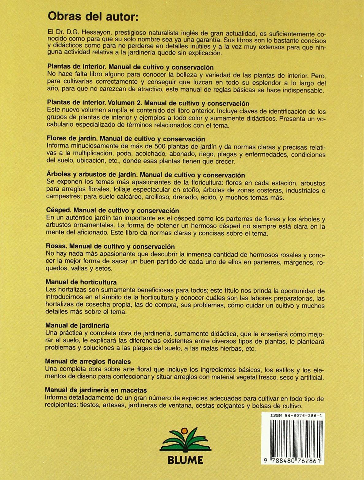 Césped: Manual de cultivo y conservación (Expert series ...