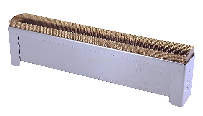 De Buyer 3202.04Stampo pasta crosta smontabile/Foglio cottura riutilizzabile acciaio inox 30x 4x 6cm