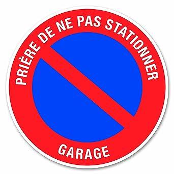 Chapuis DS29 - Señal de prohibido aparcar adhesiva (PVC, 280 ...